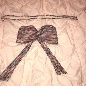 Roxy twisted bandeau bikini top